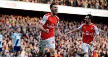 Arsenal West Ham'a fark attı