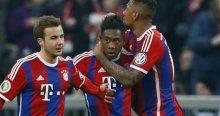 Bayern Münih çeyrek finalde!