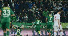 Bursaspor Balıkesirspor'u 4-2 yendi