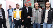 Elazığ'da 112 sağlık ekiplerine silahlı saldırı