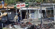 Fırat Çakıroğlu'nun öldürüldüğü kafe yıkıldı