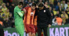 Galatasaray'ın yıldızında çatlak şüphesi