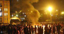 Hakkari'de ilk Nevruz ateşi yakıldı