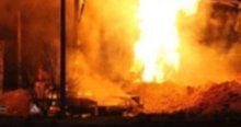 Kocaeli'nde doğalgaz patlaması, 1 yaralı