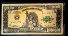 Manisa'da 1 milyon dolarlık banknot ele geçirildi