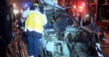 TEM'de feci kaza, 2 ölü