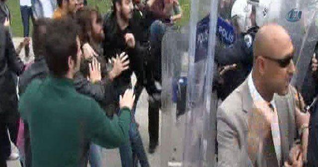 Eskişehir'de üniversitede kanlı gerginlik