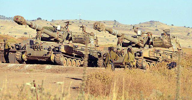 İsrail'den Kuneytra'ya saldırı