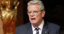 Almanya Cumhurbaşkanı 'soykırım' dedi