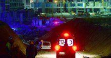 Ankara'da sağlık kampüsü inşaatında kalıp çöktü, 5 yaralı