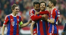 Bayern Porto'yu ezdi geçti