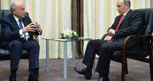 Blatter'dan Rusya'ya tam destek