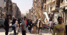 DAEŞ militanları Yermuk kampına girdi
