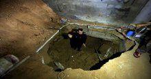 Gazzeliler 'bomba' üstünde yaşıyorlar