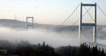İstanbullular yeni  güne sisle başladı