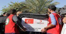 Kızılay'dan Irak'taki 800 aileye yardım