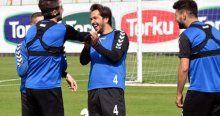 Konyaspor'da neşeli antrenman