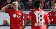 Leverkusen seriye bağladı