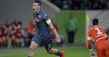 Napoli ile Wolfsburg 2-2 beraber kaldı