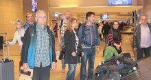 Nepal'den 242 kişi Türkiye'ye geldi