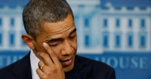 Obama, 'Düşündükçe ağlıyorum'
