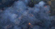 Orman yangını Çernobil Nükleer Santrali'ne doğru ilerliyor