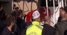 Şehit savcı için adliyede tören düzenlendi