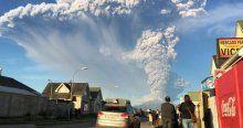 Şili'de yanardağ 43 yıl sonra faaliyete geçti