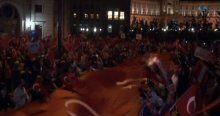 Viyana'da 15 bin kişi, soykırım yalanını protesto etti