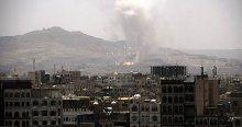 Yemen'de Husilere ait tedarik merkezi bombalandı