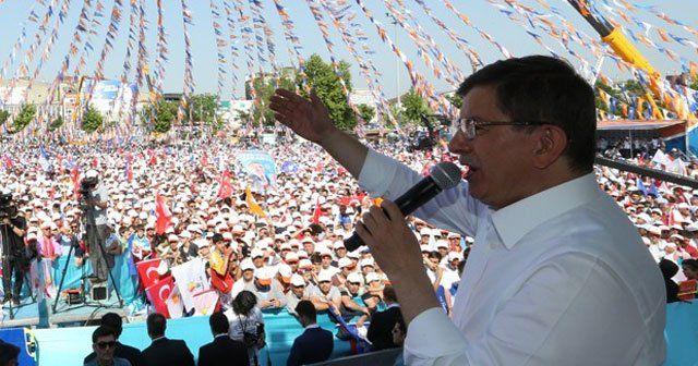 Başbakan Davutoğlu, 'Biz devler ligindeyiz'