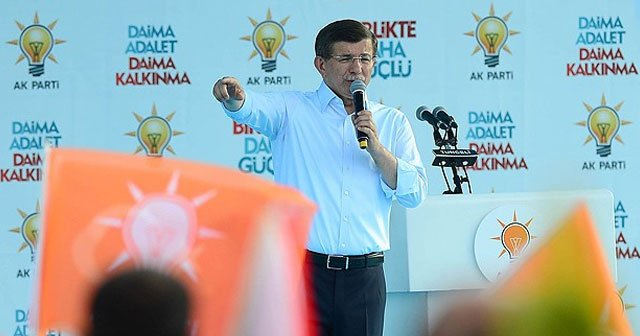 Başbakan Davutoğlu, 'Dersim'in acıları bir daha yaşanmayacak'