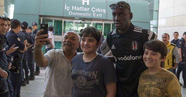 Beşiktaş, Torku Konyaspor maçı için Ankara'ya geldi