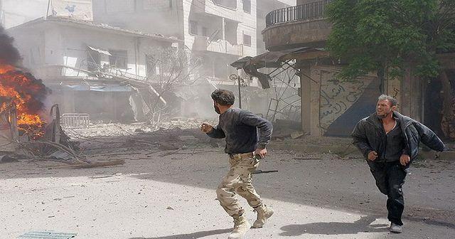 Esad güçleri saldırılarına devam ediyor