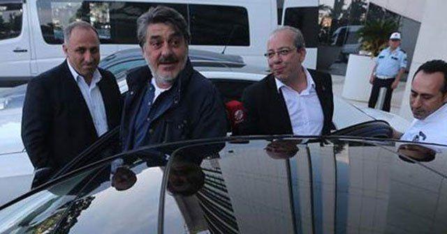 Galatasaray otelinde Serdal Adalı sürprizi