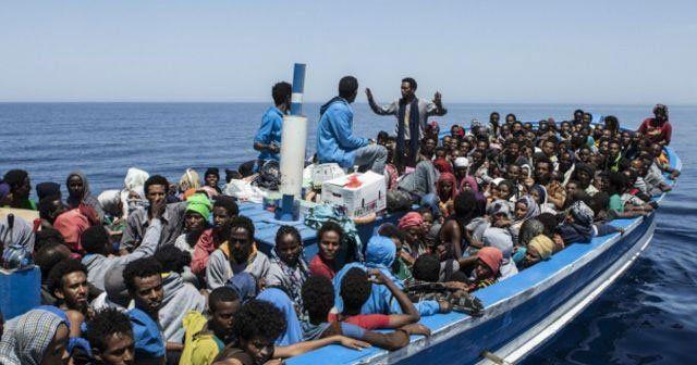 İki günde 6 bine yakın göçmen kurtarıldı