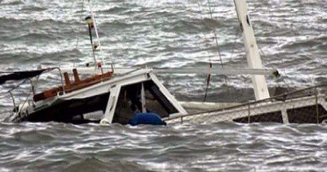 Kaçakları taşıyan tekne battı, 9 ölü