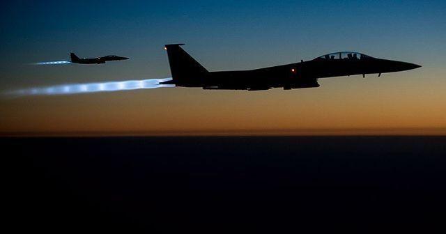 Koalisyon güçlerinden Husilere hava saldırısı