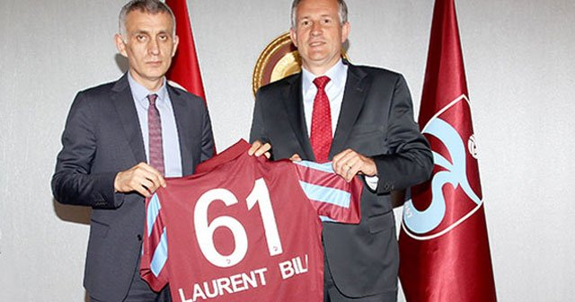 Laurent Bili, Trabzonspor'u ziyaret etti