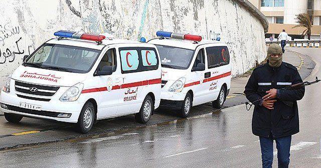 Libya'da sağlık merkezine saldırı