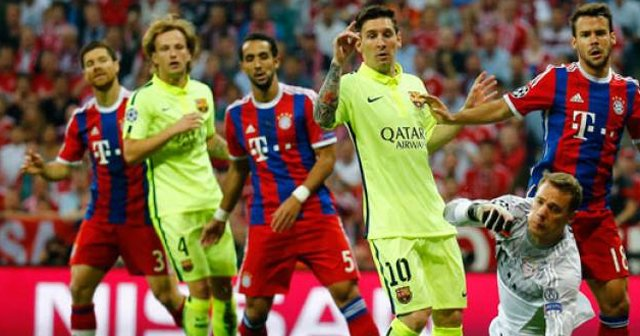 Devler Ligi'nde ilk finalist Barcelona