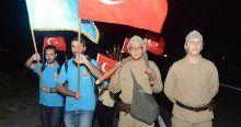 'Şehit tıbbiyeliler' Çanakkale'de anıldı