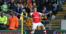 Arsenal Sanchez'le güldü