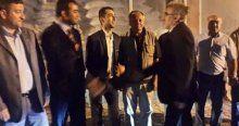 Bakan Taner Yıldız gece yarısı Osmaneli'de