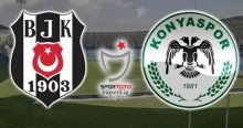 Beşiktaş Torku Konyaspor maçında ilk 11'ler