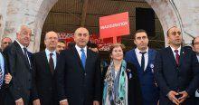 Çavuşoğlu Lyon'da  festival açılışı yaptı