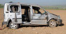 Cizre'de trafik kazası, 2 ölü, 4 yaralı