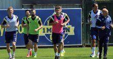 Fenerbahçe 7 eksikle çalıştı