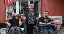 Hayatını engelli çocuklarına adadı
