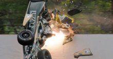 IndyCar'da 1 haftada 4 büyük kaza